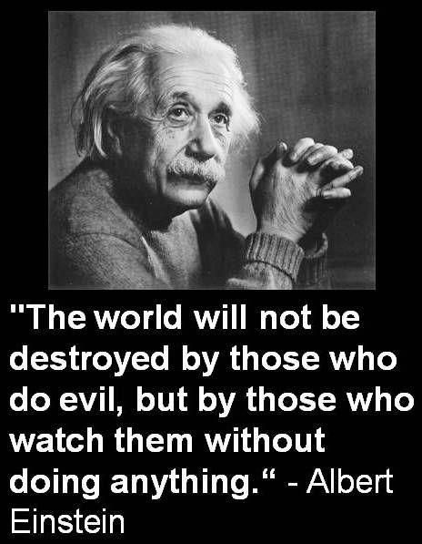 Albert Einstein - Watch Without Doing Anything