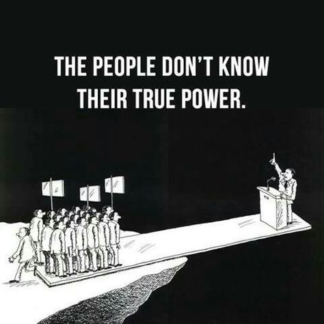 People Don't Know Their Power