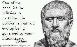 Plato - Refusing to Participate in Politics