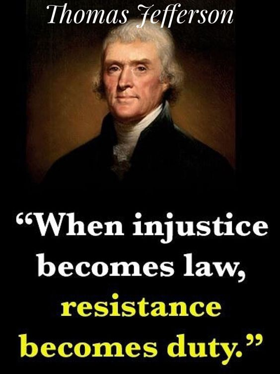 Thomas Jefferson-Resistance becomes duty